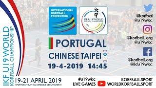 IKF U19 WKC 2019 POR – TPE
