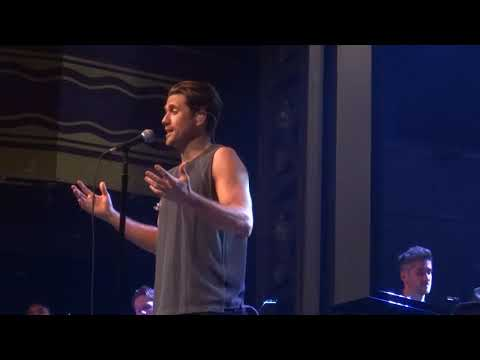 Aaron Tveit - Your Song (Moulin Rouge) (Elton John) @ Webster Hall [5-29-19]