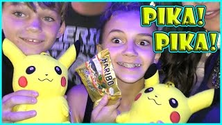 HOW WE WON PIKACHU! | We Are The Davises