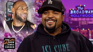 Is Ice Cube Responsible for LeBron in LA??