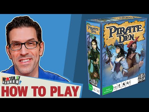 PIRATE DEN - How To Play - Watch It Played