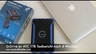 G-Drive ev ATC 1TB Testbericht nach 4 Wochen