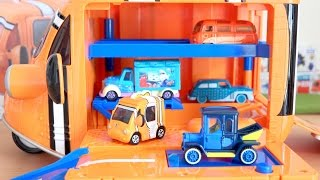 DM Finding Dory BIG Nemo Carry with 6 cars Tomica disney motors
