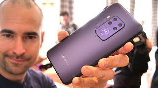 Motorola One Zoom Hands-on Review - Quad-Camera Beast
