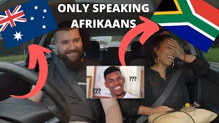 Talking Only Afrikaans To My Australian Husband