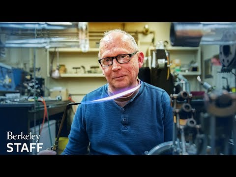 Portrait of a scientific glassblower