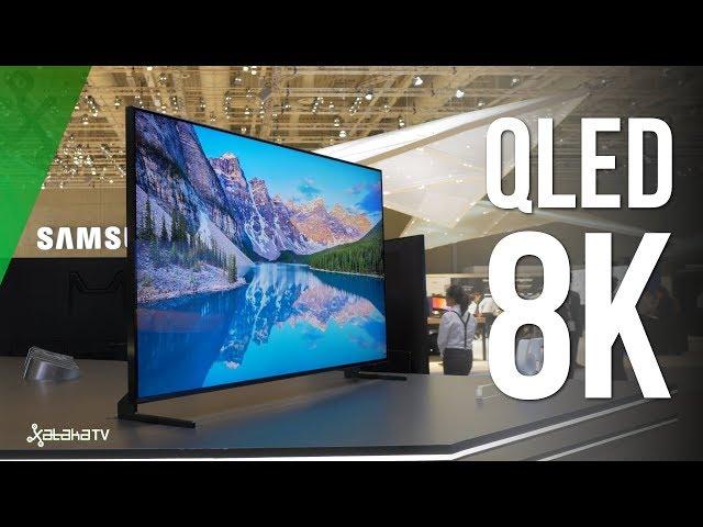Samsung QLED 8K Q900R: Así se ve una RESOLUCIÓN 16 VECES MAYOR que Full HD