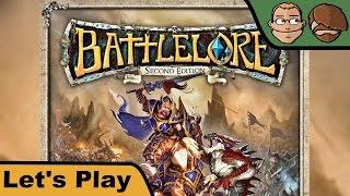 Battlelore 2nd edition -  Brettspiel - Let's Play - 2500 Abonnenten Spezial