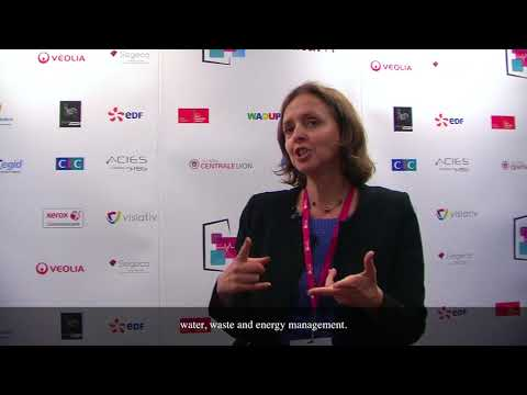 VEOLIA – Interview de Yolande Azzout, Directrice Innovation et Transformation