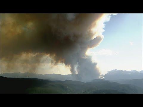 Firefighter Battling Cameron Peak Fire Tests Positive For Coronavirus