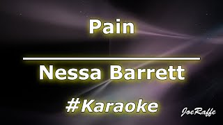 Nessa Barrett - Pain (Karaoke)
