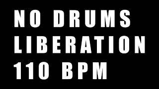 Liberation No Drums 110BPM // METAL Drumless Backing Track