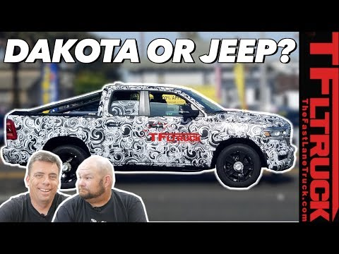 What's Hiding Underneath? New Ram Dakota truck or 2021 Jeep Grand Wagoneer SUV?
