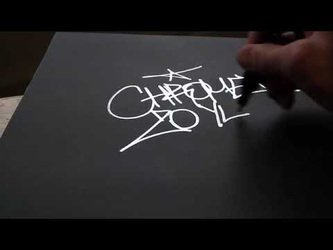 Маркер Molotow Liquid Chrome - пример использования