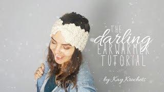 The Darling Earwarmer Tutorial | Crochet Tutorial