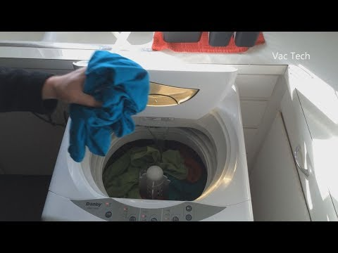 Another Demo Of The Best Portable Washing Machine   Danby Compact Washer  Long Term Review Dwm17wdb