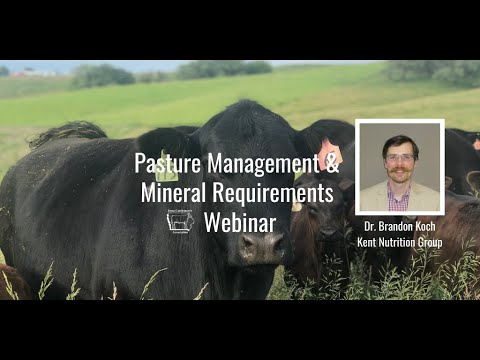 Download Pasture Management & Mineral Requirments Webinar | Dr  Brandon Koch, Kent Feeds Ruminant Nutritionis Mp4 HD Video and MP3