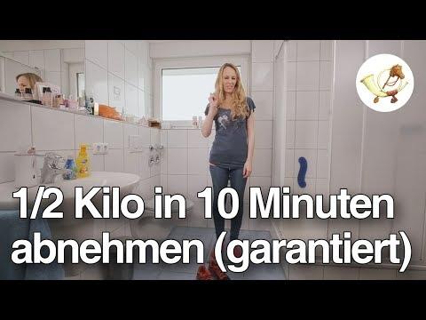 Abnehm-Tutorial: 1/2 Kilo in 10 Minuten (garantiert)