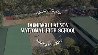 Domingo Lacson National High School: Just Wish Learning Hub Ceremony