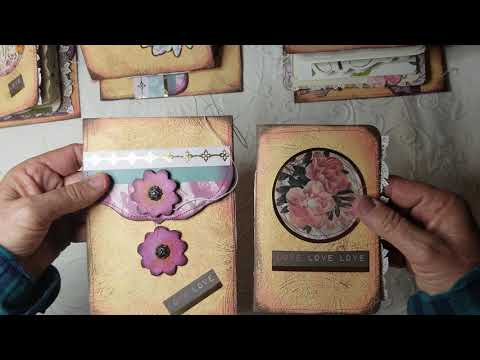 Pretty Envelopes and Travel Journals Made by Fairies SNIPPETS on EBAY