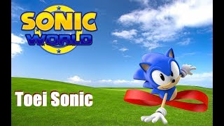 Sonic World mods Toei Sonic