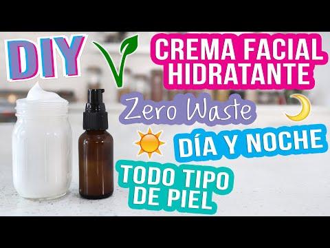 CREMA FACIAL HIDRATANTE - TODO TIPO DE PIEL - DIY ZERO WASTE - Mixi