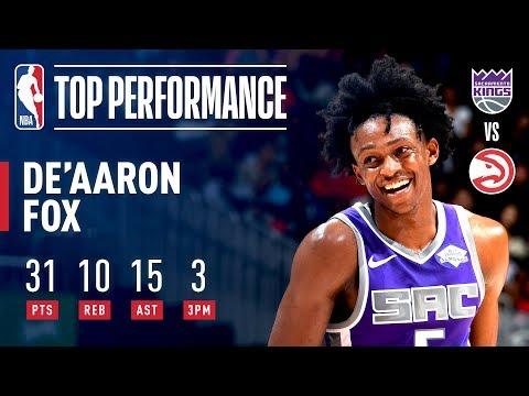 De'Aaron Fox Records His FIRST Career Triple-Double! | November 1, 2018