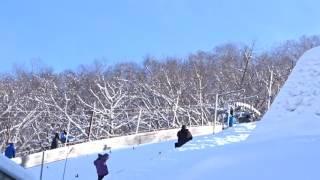 FISスキージャンプワールドカップジャンプレディース札幌大会/伊藤有希選手2回目のジャンプ