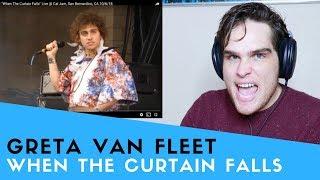 Voice Teacher Reacts To Greta Van Fleet   When The Curtain Falls