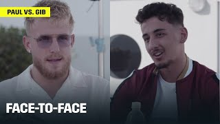 Jake Paul, AnEson Gib Come Face-to-Face Before Fight