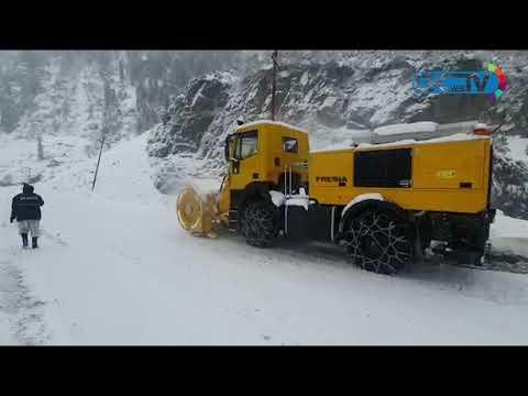 BRO starts snow clearance work on strategically important Srinagar-Leh highway