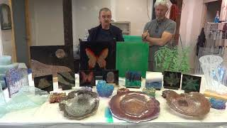 """The Art of Silastial Glass"" Workshop Testimonial..."