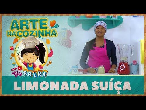 Limonada Suíça | Arte na Cozinha com a tia Érika