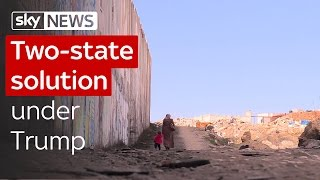 Two-state solution under Trump
