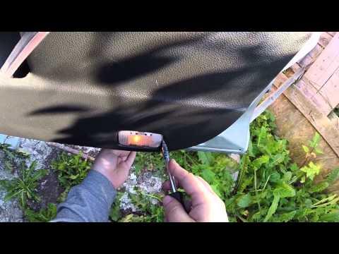 Снятие обшивки передней двери Nissan Murano Z51