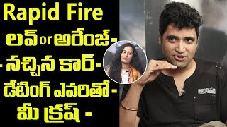 Hero Adivi Sesh Rapid fire with Friday poster Anchor Ramya | Adivi sesh interview | Friday poster