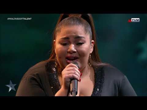 Destiny, you've got all of our love! | The Final | Malta's Got Talent