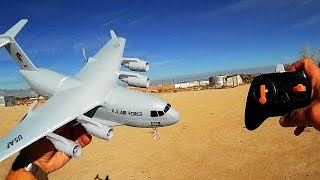 C17 Gyro Stabilized RC Airplane Flight Test Review