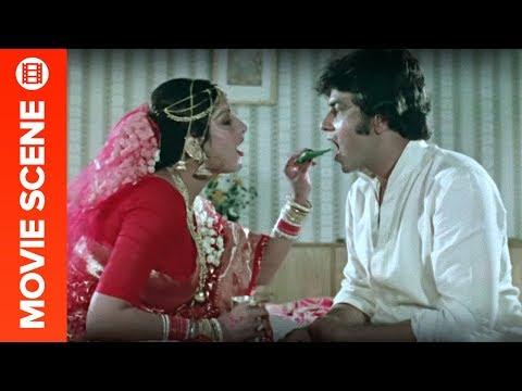 Jeetendra & Moushumi Chatterjee's First Night - Swarg Narak