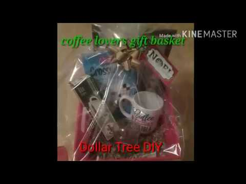 Dollar tree Diy gift basket