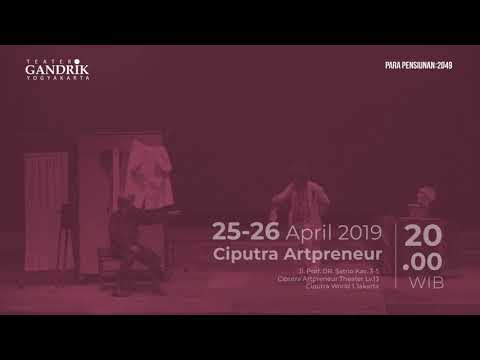 Teater Gandrik Mempersembahkan Lakon Berjudul Para Pensiunan 2049