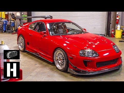 730hp Mk4 Supra - Single Turbo