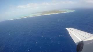 Air Rarotonga Flight (HD) - Rarotonga (RAR) - Aitutaki (AIT) Cook Islands GZ614 Saab 340