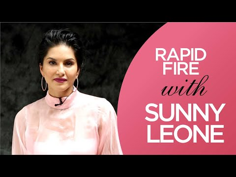 Rapid Fire with Sunny Leone | Filmfare Exclusive | Interview