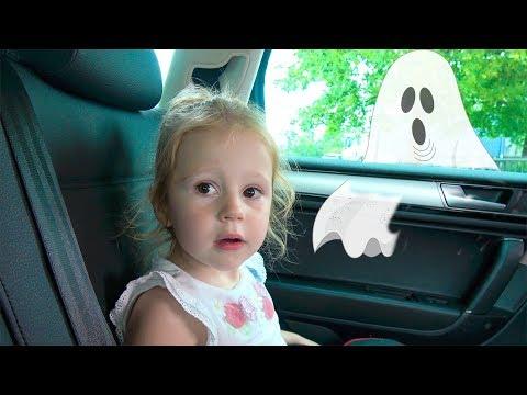 Папа потерялся в магазине - история на Хеллоуин
