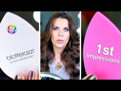 FIRST IMPRESSIONS | Blotterazzi by Beauty Blender