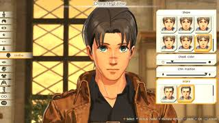 ATTACK ON TITAN 2   Full Character Creation & Customization All Options PS4 Pro
