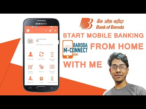 Bank Of Baroda Mobile Banking Register And Active In 2 min l Baroda MConnect Plus Activation