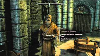 The Elder Scrolls V Skyrim HD Walkthrough Episode 240-Learning the Elder Scrolls Location!