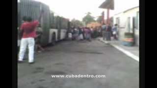 preview picture of video 'Situación del transporte urbano en Cuba'